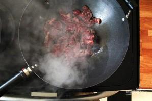 Салат с мясом и овощами - фото шаг 2