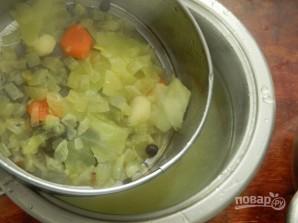Картофельный суп-толчeнка с квашеной капустой - фото шаг 6