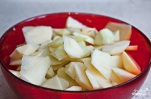 Шарлотка из яблок - фото шаг 2