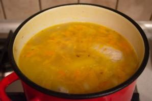 Суп с мясом и яйцом - фото шаг 7