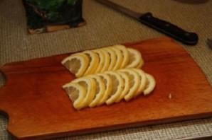 Стерлядь, запеченная в фольге - фото шаг 3