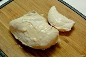 Волованы с салатом из кукурузы и грибов - фото шаг 8