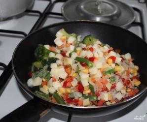 Сырный суп с овощами - фото шаг 1