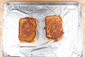Сэндвич с яблоком и беконом - фото шаг 5