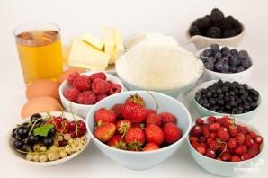 Песочные корзиночки с ягодами - фото шаг 1