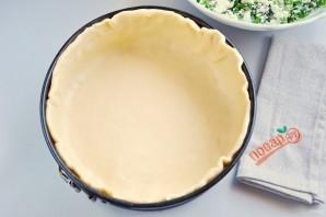 Весенний пирог с зеленью - фото шаг 4