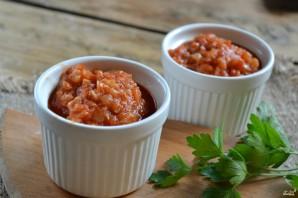 Аджика из кабачков с помидорами - фото шаг 4