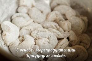 Паста феттучини с креветками - фото шаг 1