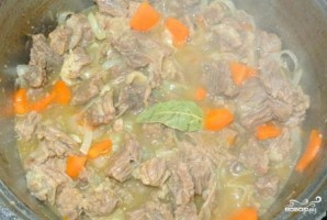 Мясо с морковью - фото шаг 5