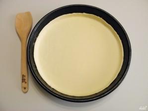 Пицца из слоеного дрожжевого теста - фото шаг 6