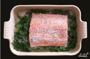 Засол красной рыбы - фото шаг 5