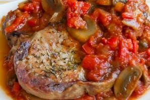 Свинина под соусом в духовке - фото шаг 5