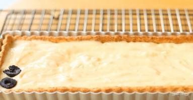 Торт с заварным кремом и черносливом - фото шаг 6