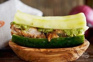 Огуречный сэндвич от повара - фото шаг 9