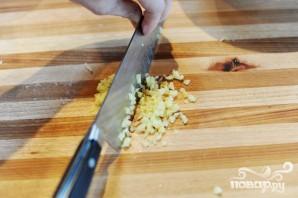 Мясной салат - фото шаг 8