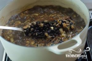 Суп с фасолью и огурцами - фото шаг 11