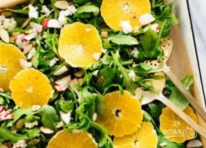 Салат с апельсином и рукколой - фото шаг 4