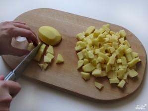 Омлет с картошкой - фото шаг 1