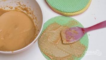 Крем для вафельного торта - фото шаг 2