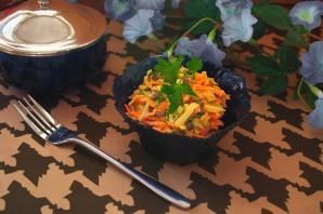 Салат с тертым сыром - фото шаг 6