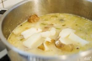 Сырный суп-пюре с брокколи - фото шаг 5