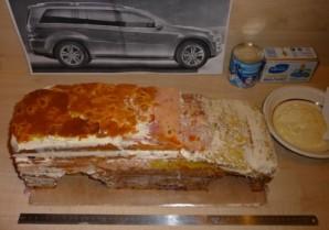 """Торт """"Гелендваген"""" - фото шаг 1"""