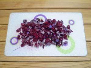 Винегрет рецепт классический с горошком - фото шаг 4