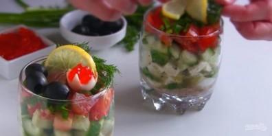 Два праздничных салата за 10 минут - фото шаг 3