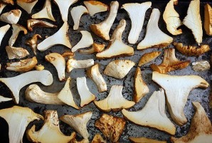 Сушка грибов в духовке - фото шаг 2