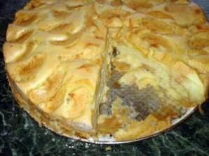 """Пирог с яблоками """"Шарлотка"""" - фото шаг 10"""