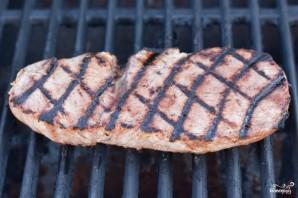 Стейк из говядины на гриле - фото шаг 3