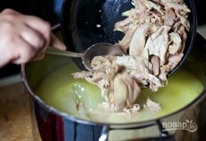 Суп-пюре с курицей - фото шаг 12