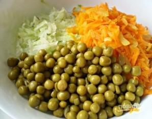 Салат с зеленой редькой - фото шаг 7