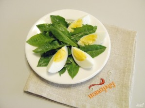 Салат из одуванчика - фото шаг 5