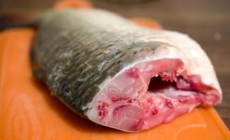 Рыба начиненная кашей - фото шаг 2