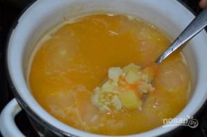 Суп рыбный из горбуши консервы - фото шаг 6