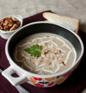 Грибной суп со сметаной - фото шаг 5