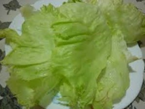 Салат с виноградом и ветчиной - фото шаг 6