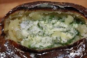 Картофель, запеченный в фольге - фото шаг 8