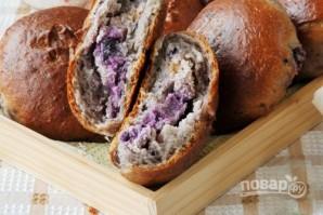 Пирожки с черникой на кефире - фото шаг 8