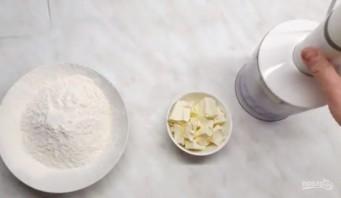 Тесто для заливного пирога (универсальное) - фото шаг 1