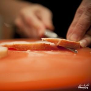 Сэндвич с ветчиной и сыром - фото шаг 2