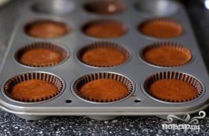 Шоколадные кексы с мятным кремом - фото шаг 5