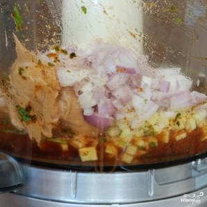 Закуска из курицы и свежих овощей - фото шаг 5