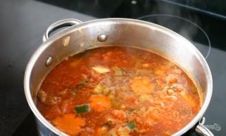 Быстрый овощной суп со свининой - фото шаг 7