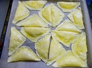 Пирожки-треугольники с мясом - фото шаг 4