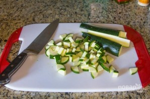 Перуанский суп с овощами и фасолью - фото шаг 5