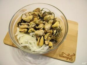 Салат из мяса мидий - фото шаг 3