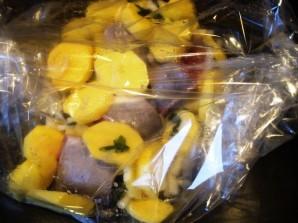 Рыба с картофелем запеченные в рукаве - фото шаг 4