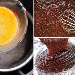 Шоколадные пирожные с теплым шоколадным соусом - фото шаг 2